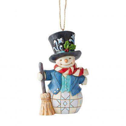 Snowman Ornament by Jim Shore Heartwood Creek