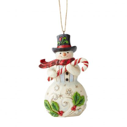 Otto's Granary Snowman Ornament by Jim Shore Heartwood Creek