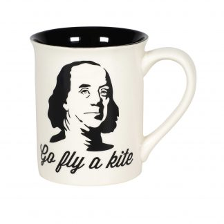 Otto's Granary Kite Ben Franklin Mug by Our Name Is Mud