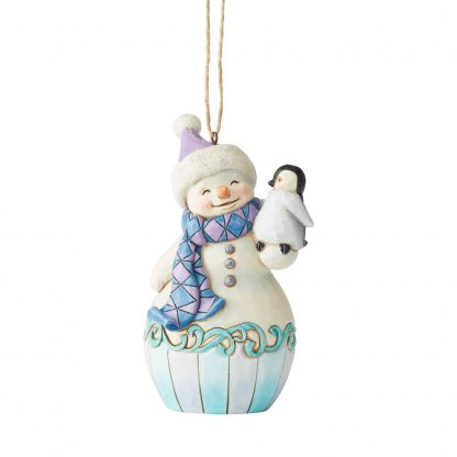 Otto's Granary Snowman Penguin  Ornament by Jim Shore Heartwood Creek