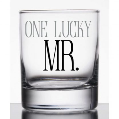 Otto's Granary Mr. Lucky Rocks Glass by Our Name Is Mud