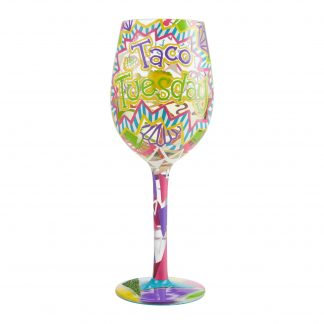 Otto's Granary Taco Tuesday Wine Glass by Lolita
