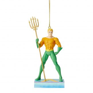 Otto's Granary Aquaman Silver Age Ornament by Jim Shore