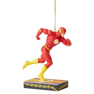 Otto's Granary The Flash Silver Age Ornament by Jim Shore