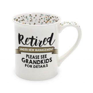 Otto's Granary Retired Grandkids Mug by Our Name Is Mud