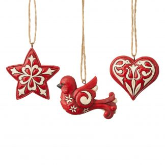 Otto's Granary Nordic Noel Ornament Set by Jim Shore Heartwood Creek