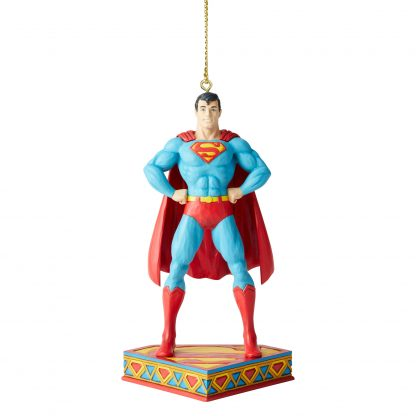 Otto's Granary Superman Silver Age Ornament by Jim Shore