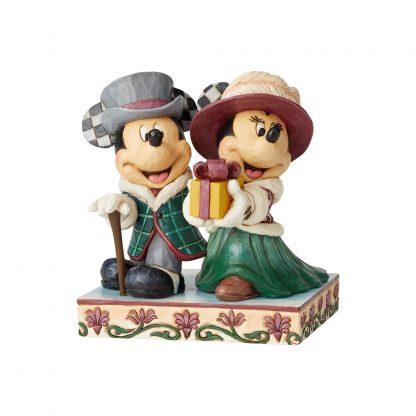 Otto's Granary Mickey and Minnie Victorian Figurine by Jim Shore