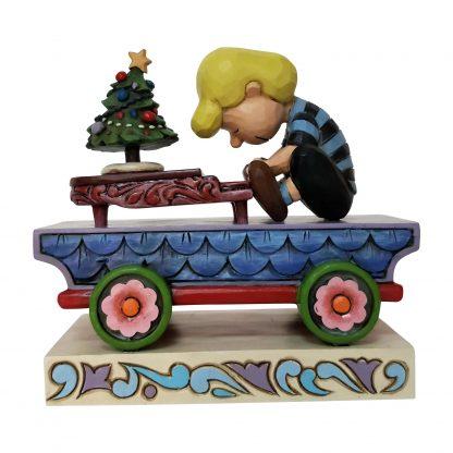 Otto's Granary Peanuts Schroeder Train by Jim Shore