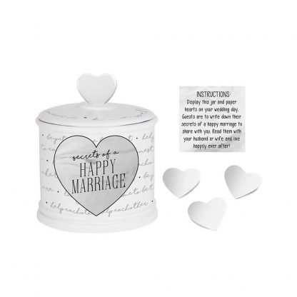 Otto's Granary Happy Marriage Jar with Paper by Our Name Is Mud