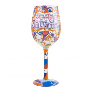 Otto's Granary Saturday Shoutout Wine Glass by Lolita