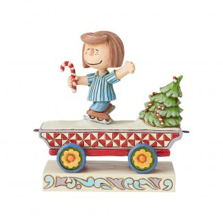 Otto's Granary Peanuts Peppermint Patty Train by Jim Shore