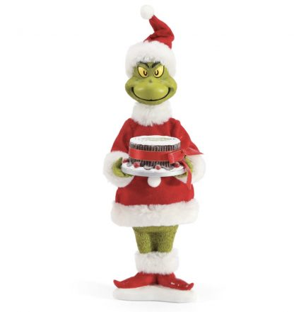 Otto's Granary Like Fruitcake Grinch Figurine by Possible Dreams