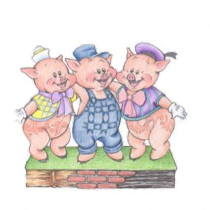 Otto's Granary Three Little Pigs by Jim Shore