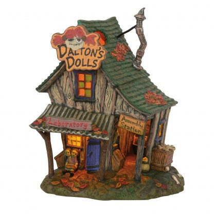 Otto's Granary Dalton's House of Dolls - Halloween Village by Dept 56