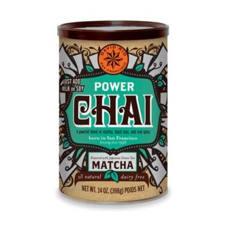 Otto's Granary Power Chai Matcha Can by David Rio
