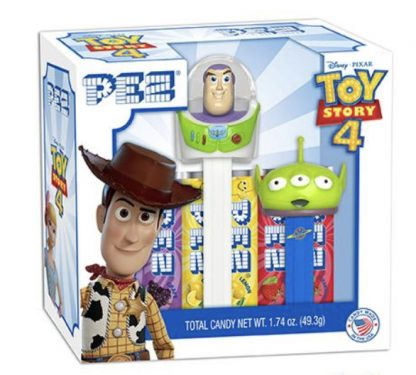 Otto's Granary Buzz Lightyear & Green Alien PEZ Twin Pack Gift Set