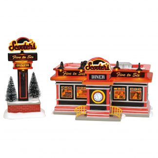 Otto's Granary Scooter's Diner by Dept 56