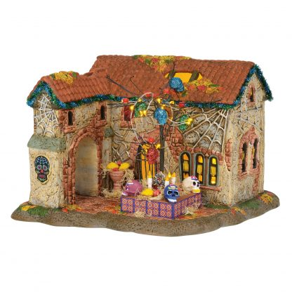 Otto's Granary Day of the Dead House - Halloween Village by Dept 56