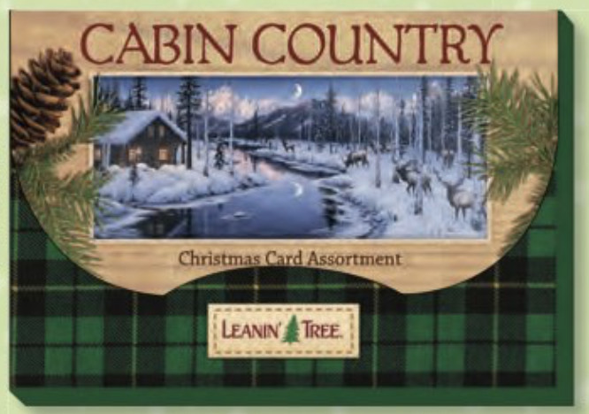Leanin Tree Christmas Cards.Cabin Country Christmas Cards By Leanin Tree Cards Ast90252