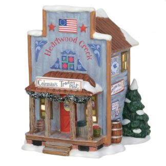 Otto's Granary Coleman's Trading Post - New England Village by Dept 56