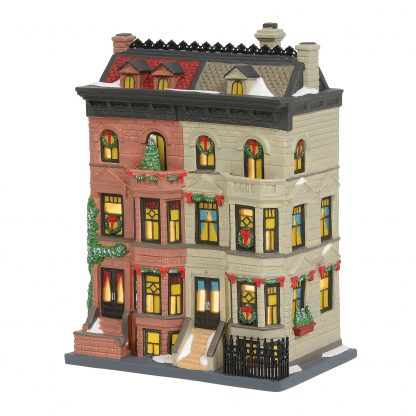 Otto's Granary Upper Westside Brownstones by Dept 56