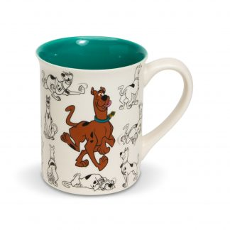 Otto's Granary Scooby Doo Model Sheet Mug by Ceramics