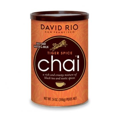 Otto's Granary Tiger Spice Chai Can by David Rio