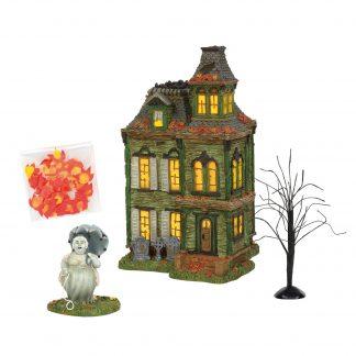 Otto's Granary Hazel's Haunted House - Halloween Village by Dept 56