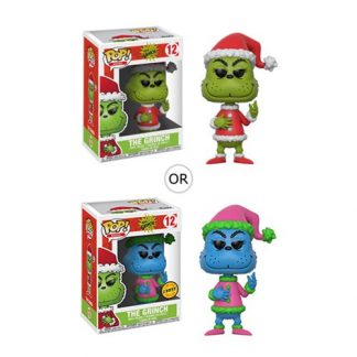 Otto's Granary Dr. Seuss The Grinch Santa Grinch #12 Pop! Vinyl Figure