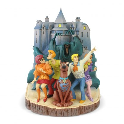 Otto's Granary Scooby Doo Carved by Heart Figurine by Jim Shore