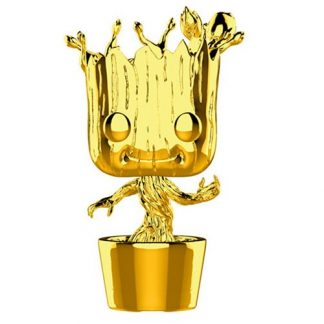Otto's Granary 10th Anniversary Guardians of the Galaxy Chrome Dancing Groot #378 Pop! Vinyl Figure