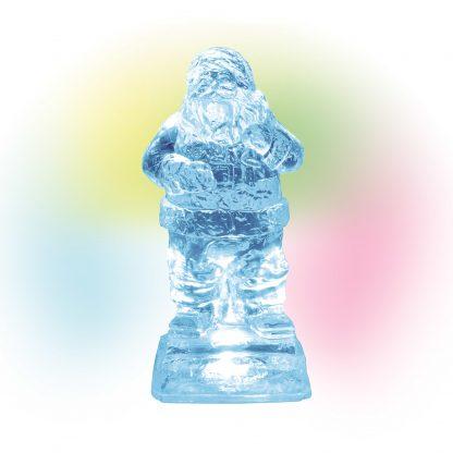 Otto's Granary Lit Ice Castle Santa - Village Accessories Figurine by Dept 56