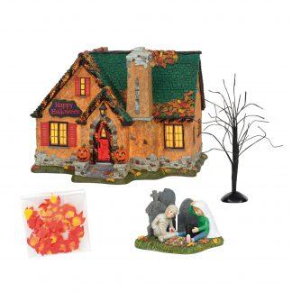 Otto's Granary Happy Halloween House - Halloween Village by Dept 56