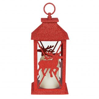 Otto's Granary Red Deer Lantern by Xmas Basics
