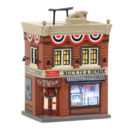 Otto's Granary Neil's TV & Repair by Dept 56