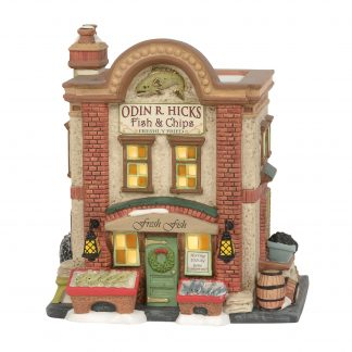 Otto's Granary Odin R. Hicks Fish & Chips by Dept 56