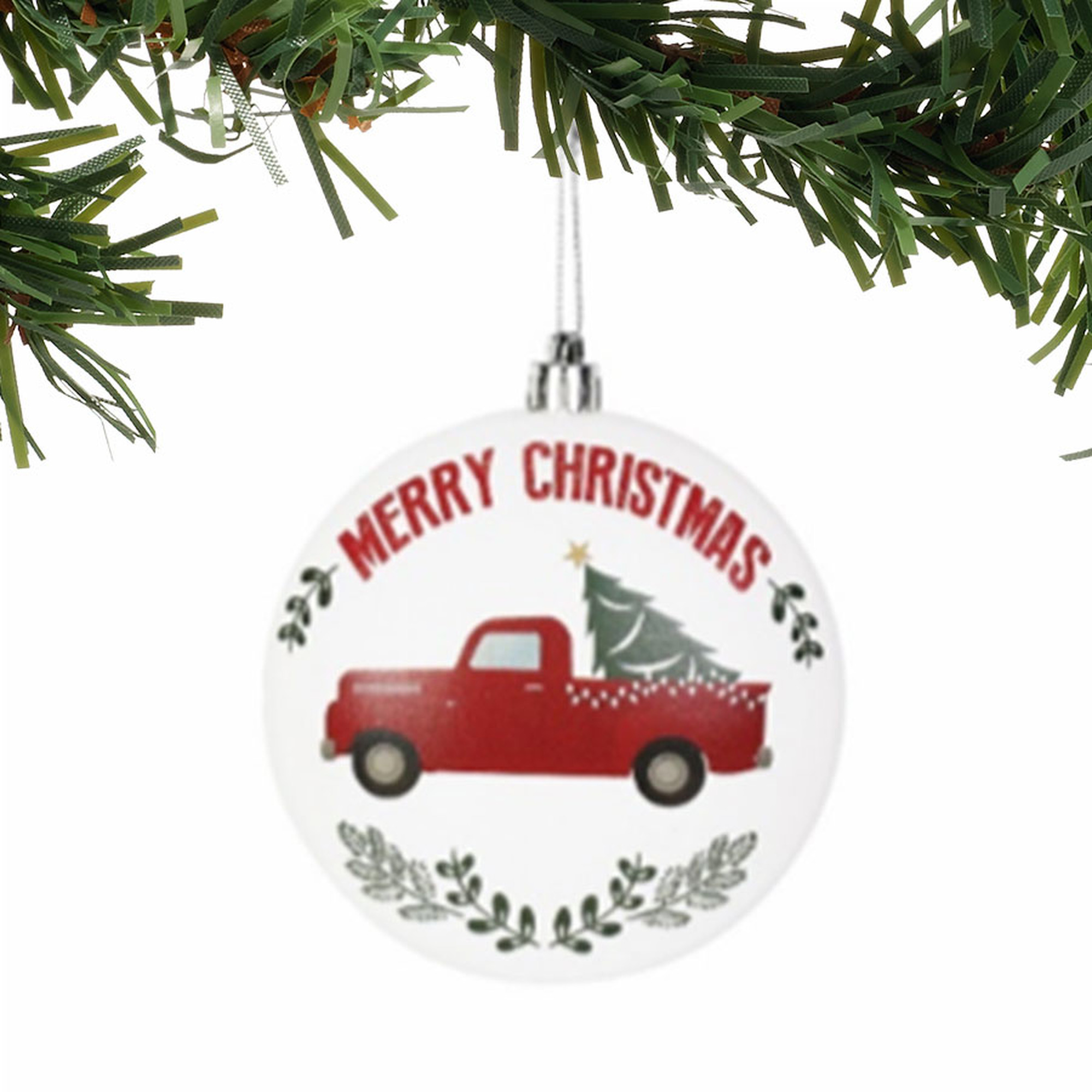 Merry Christmas Ornament by Old Fashioned Christmas